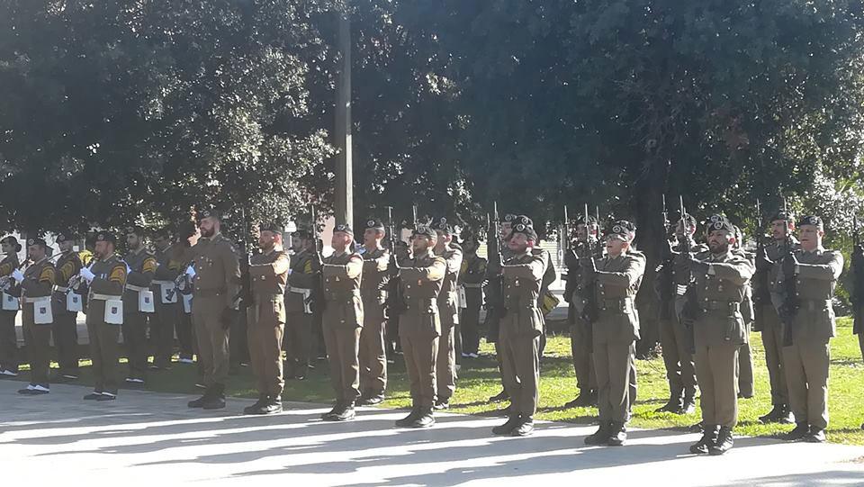 Cerimonia Giornata Nazionale Unità Nazionale e delle Forze Armate 2018 - Sabaudia
