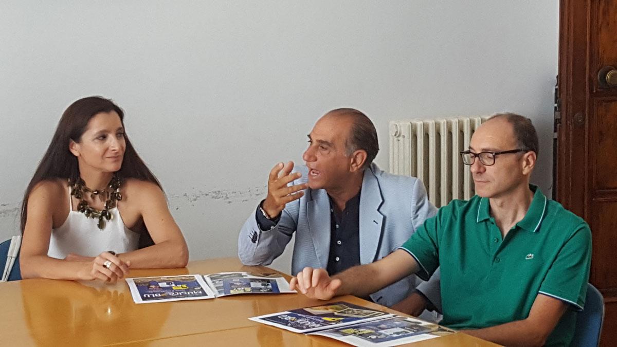 Conferenza stampa - Musica in blu – Dove il canto recita