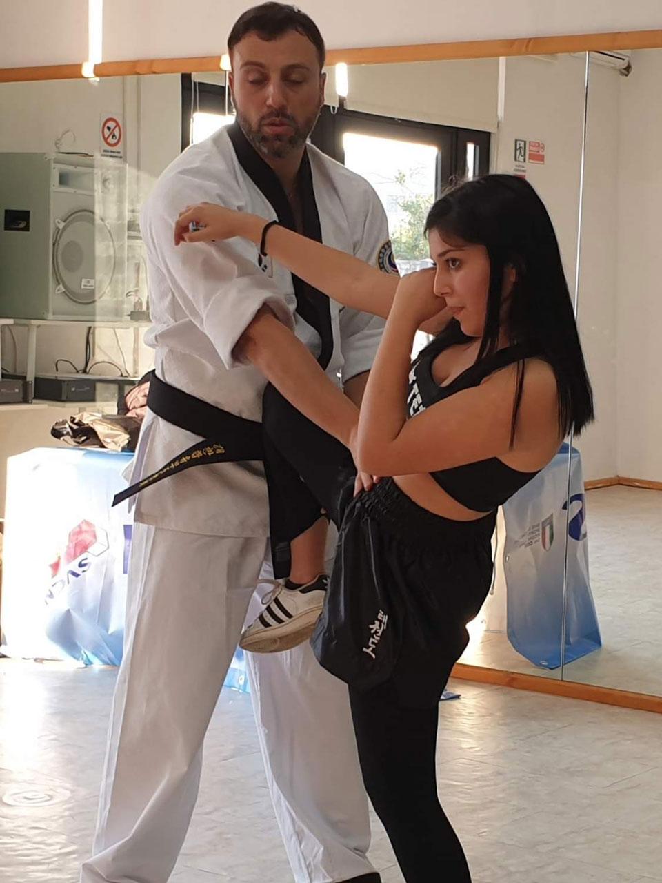 Donne In-Difesa seminario - Taekwondo WT