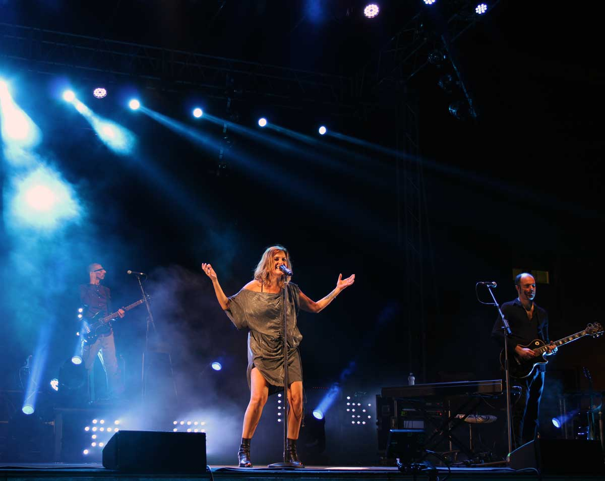 Irene Grandi - concerto 2019 Sabaudia