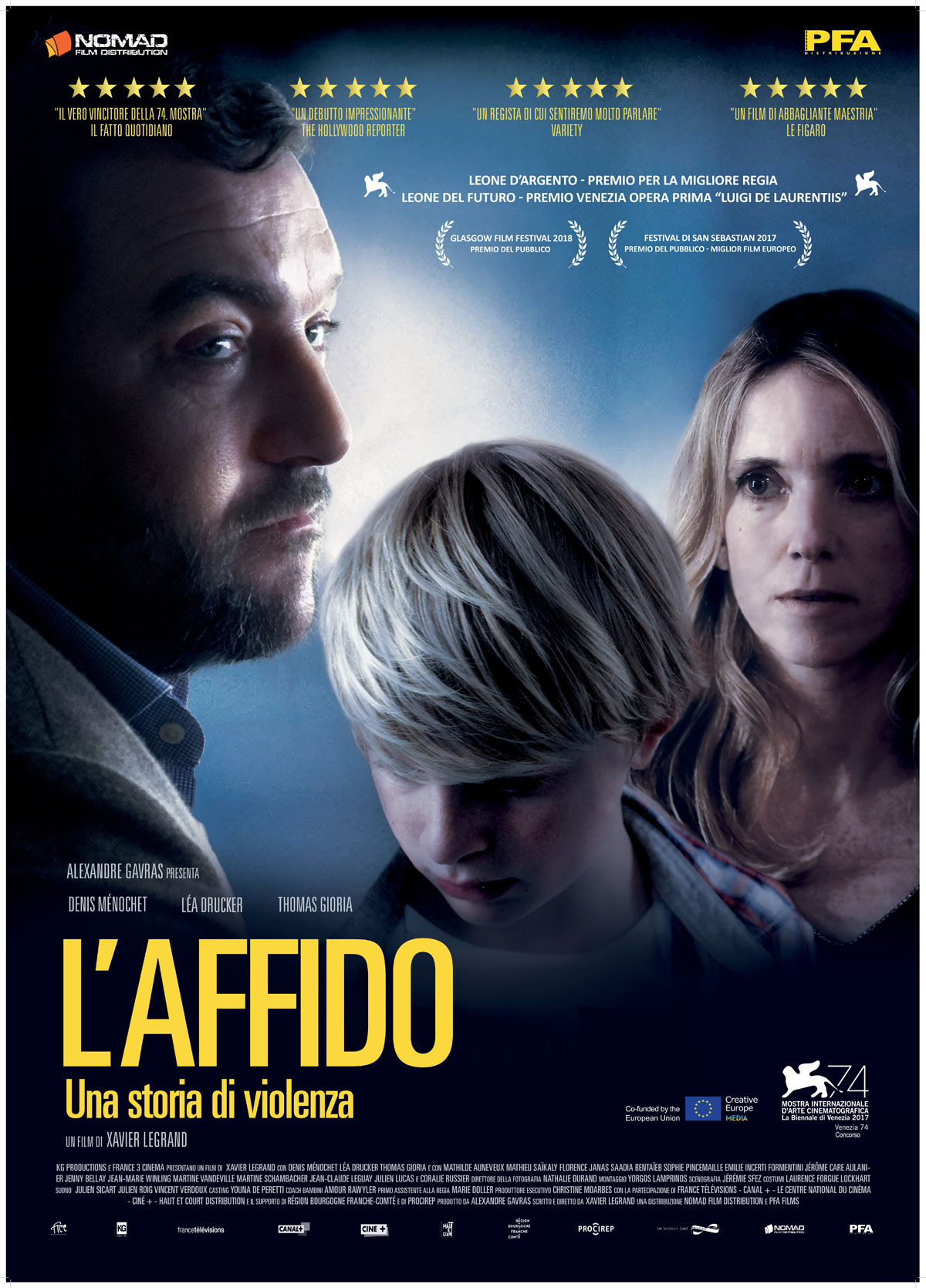 L'affido, una storia di violenza di Xavier Legrand