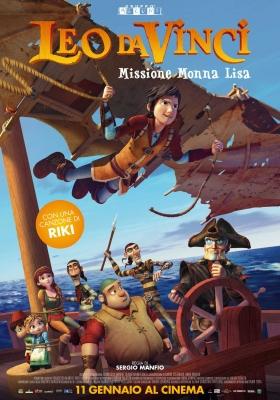Leo da Vinci – Missione Monna Lisa diretto da Sergio Manfio