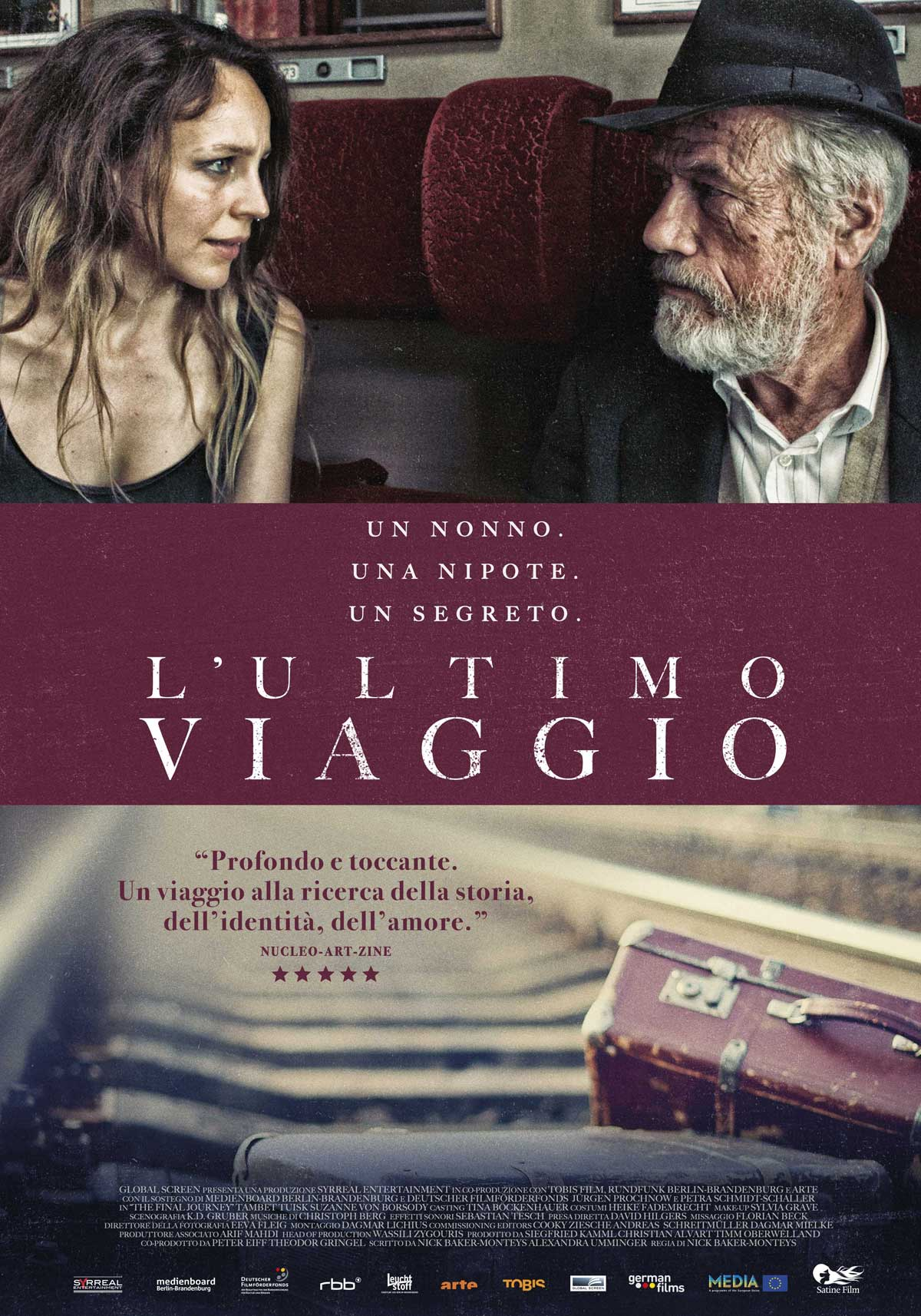 L'ultimo viaggio un film di Nick Baker-Monteys