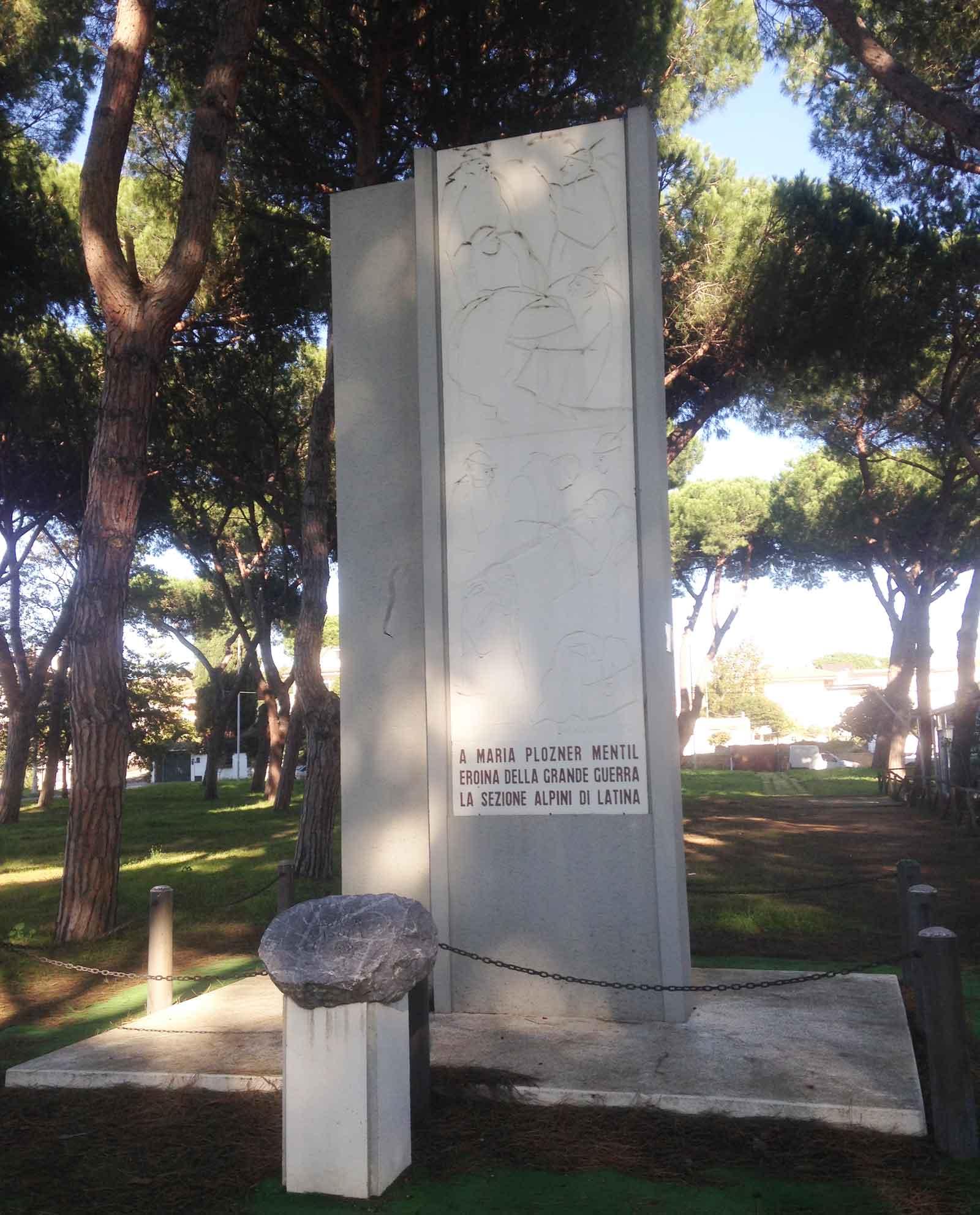 Monumento a Maria Plozner Mentil