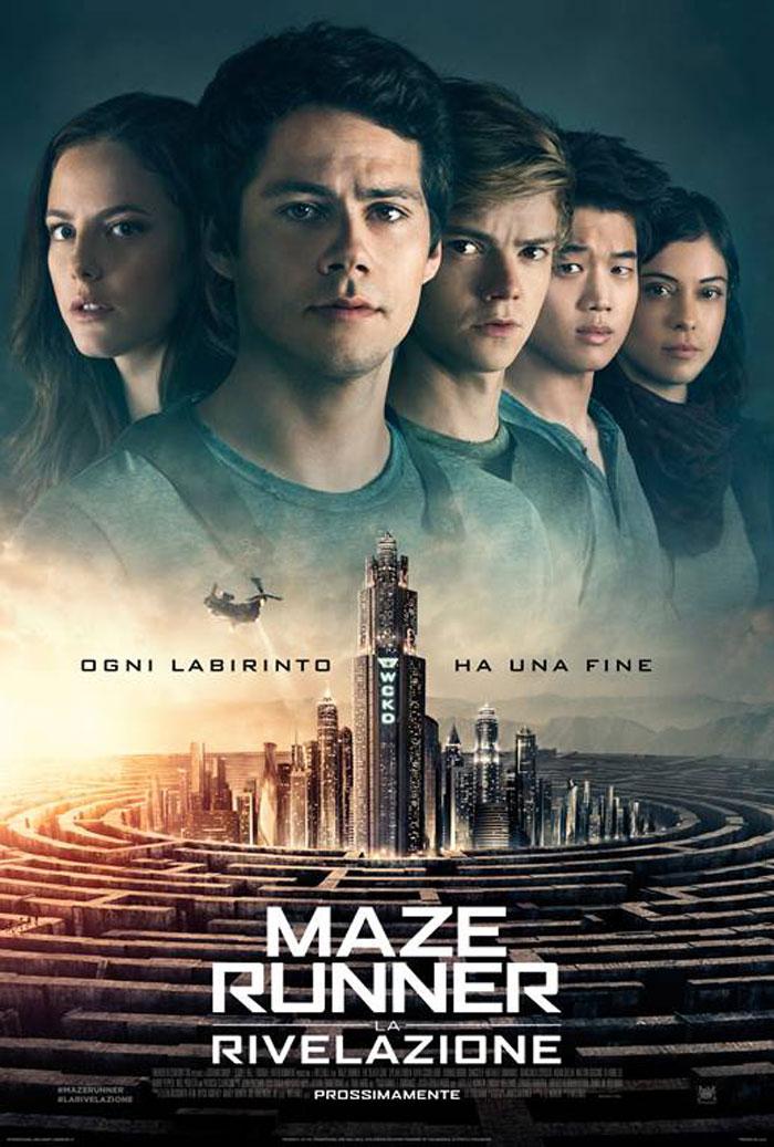 """""""Maze Runner – La rivelazione"""" di Wes Ball con Dylan O'Brien e Thomas Sangster"""