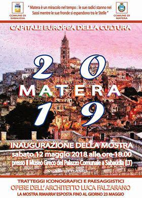"mostra ""Matera 2019-Capitale europea della cultura"" a cura di Luca Falzarano"