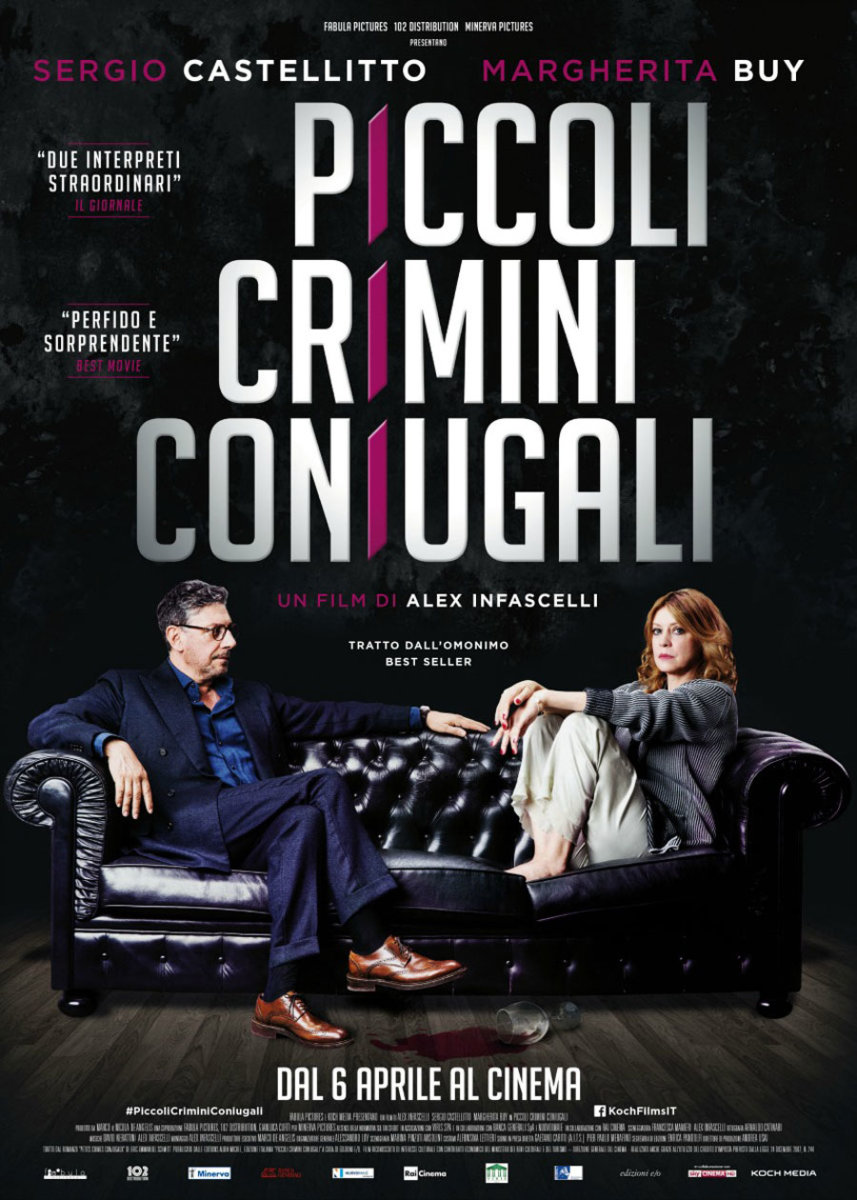 Piccoli Crimini Coniugali il nuovo film di Alex Infascelli