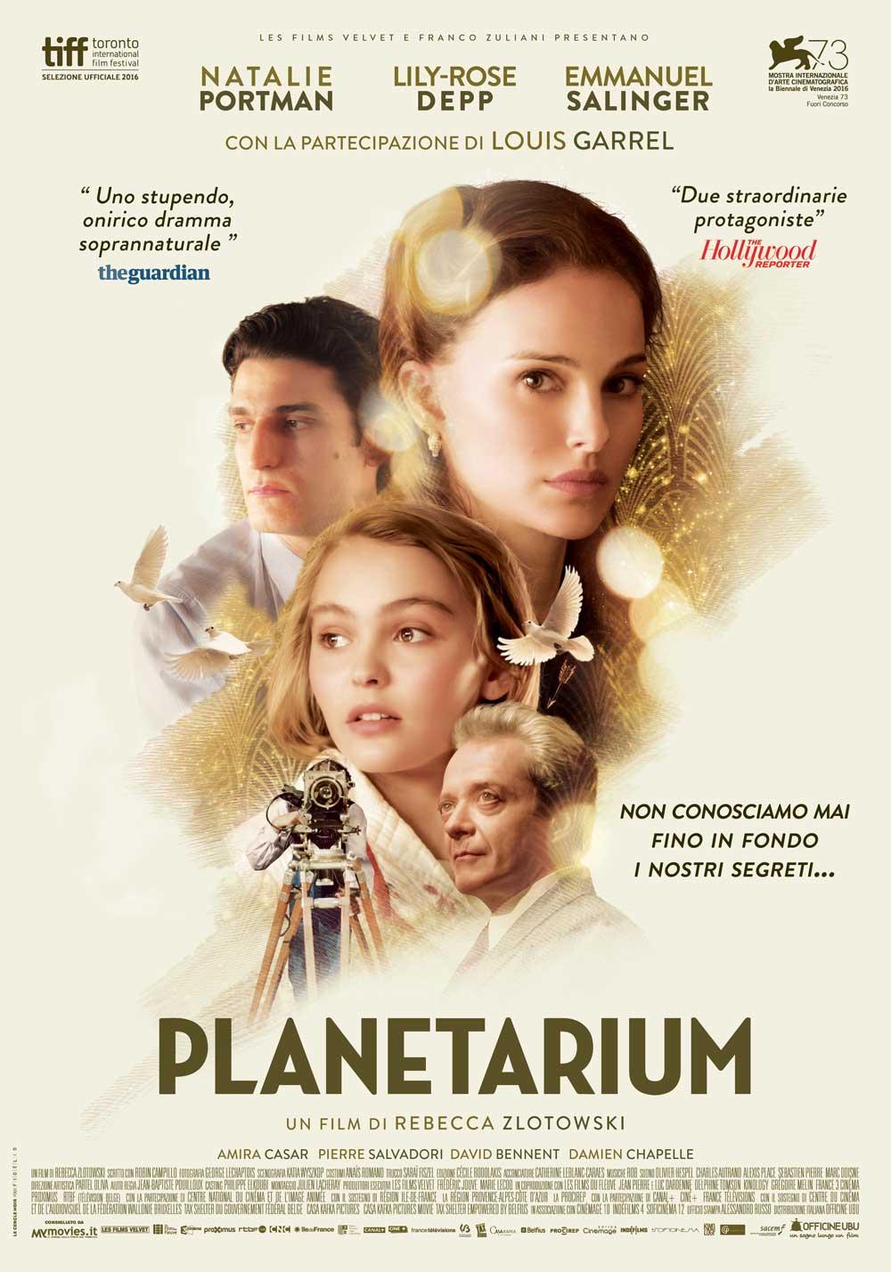 Planetarium - nuovo film di Rebecca Zlotowski
