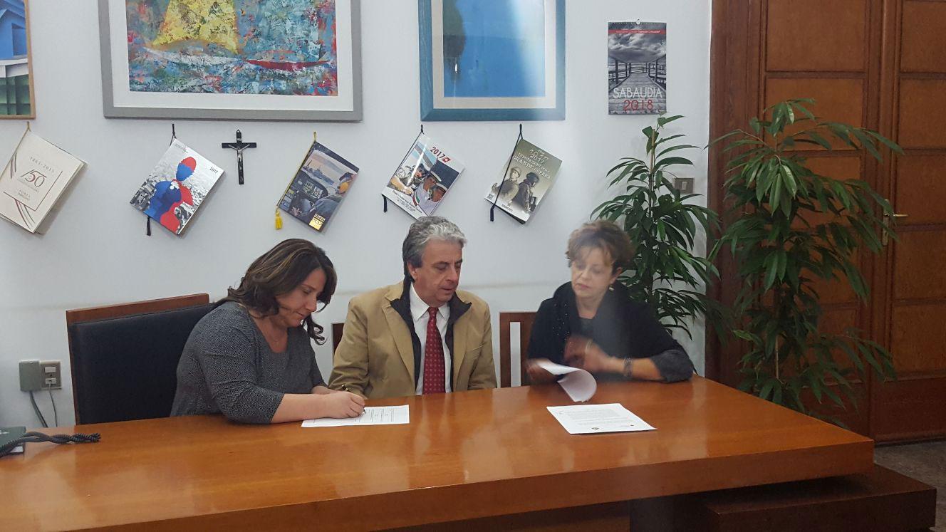 Siglato il Protocollo d'Intesa tra Comune di Sabaudia e il Ce.R.S.I.Te.S della Sapienza di Latina