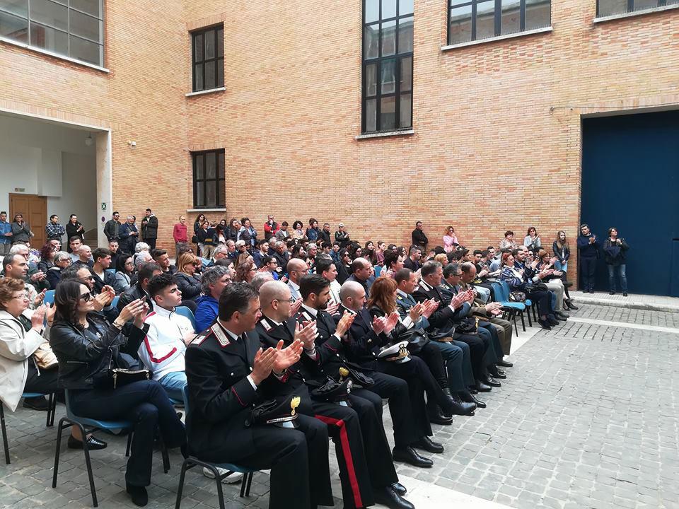 Sabaudia - cerimonia di consegna della Costituzione ai giovani