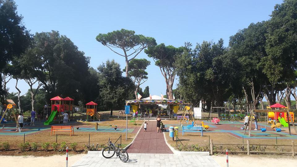 Sabaudia. Inaugurato il primo parco giochi inclusivo della città