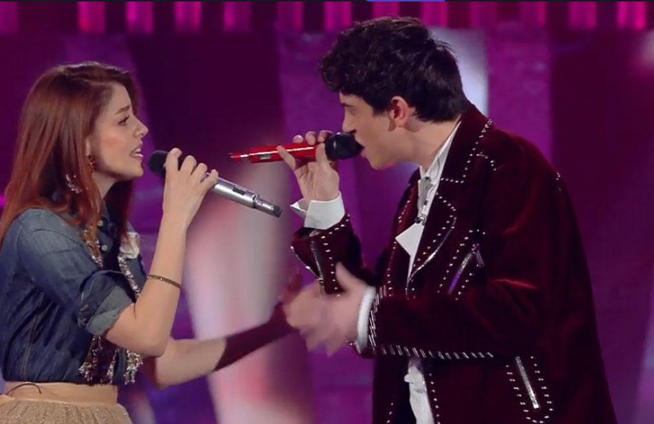 Annalisa con Michele Bravi
