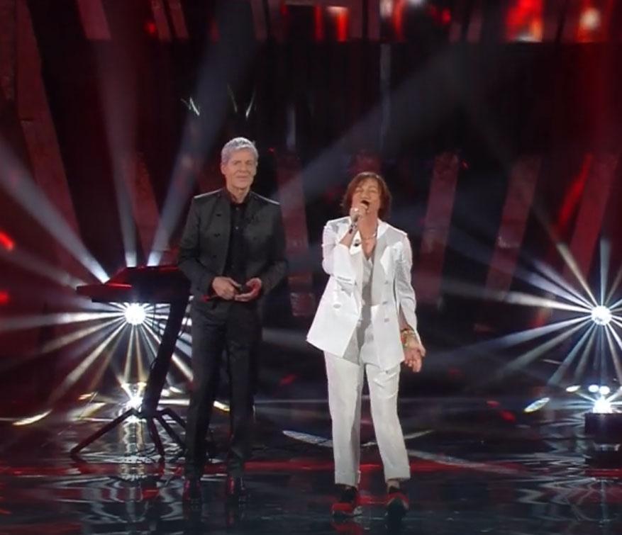 Gianna Nannini e Claudio Baglioni