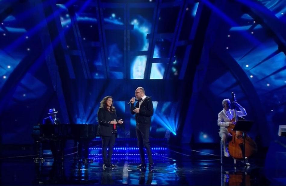 Mario Biondi con Ana Carolina e Daniel Jobim