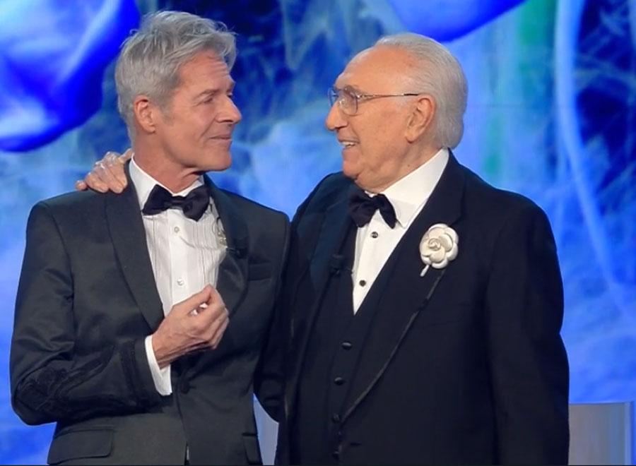 Claudio Baglioni e Pippo Baudo