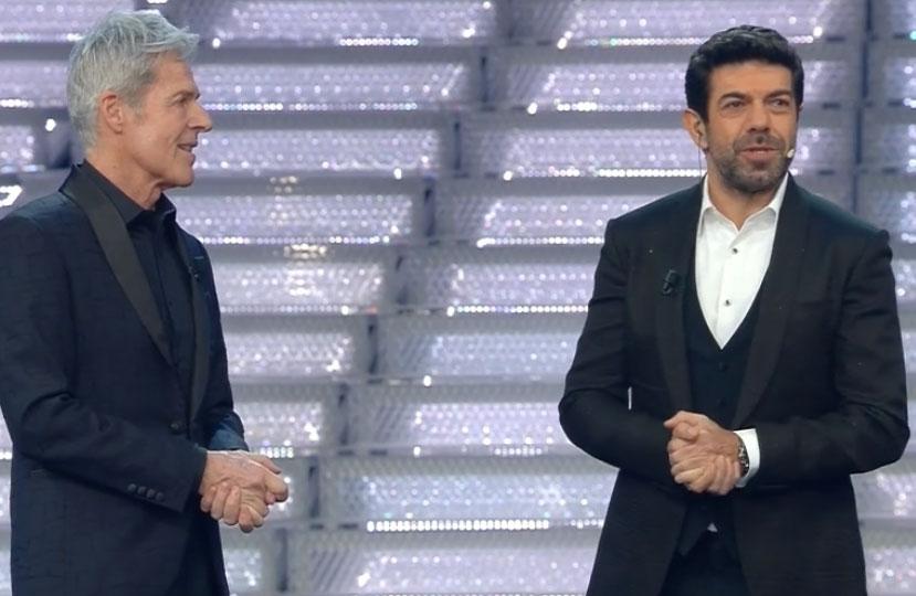 Pierfrancesco Favino e Claudio Baglioni