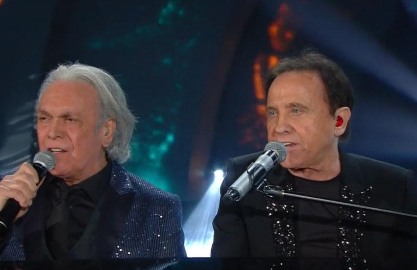 Roby Facchinetti e Riccardo Fogli