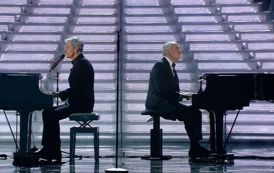 Claudio Baglioni e Danilo Rea