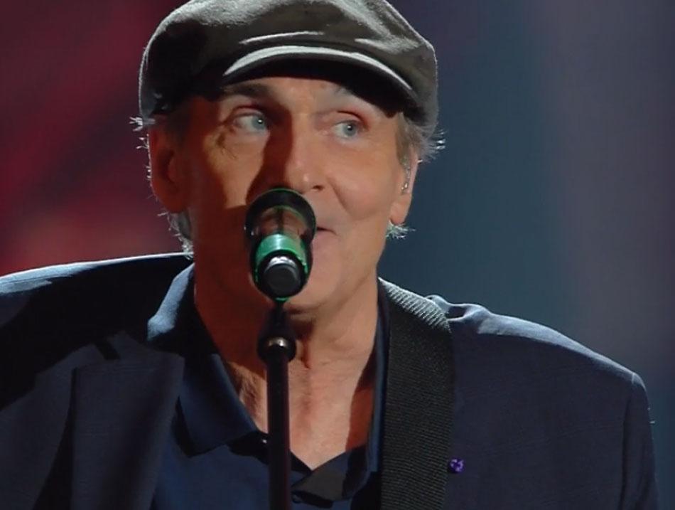 James Taylor, mito anni '70, ospite a Sanremo