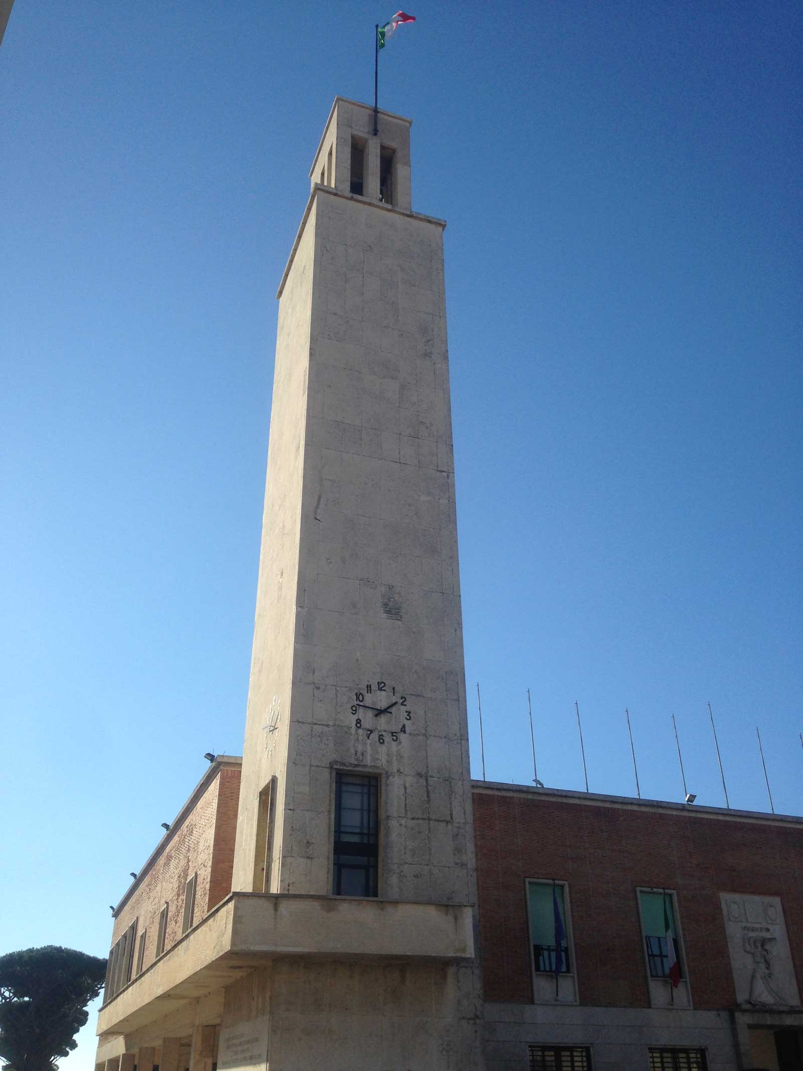 Torre del Comune di Sabaudia