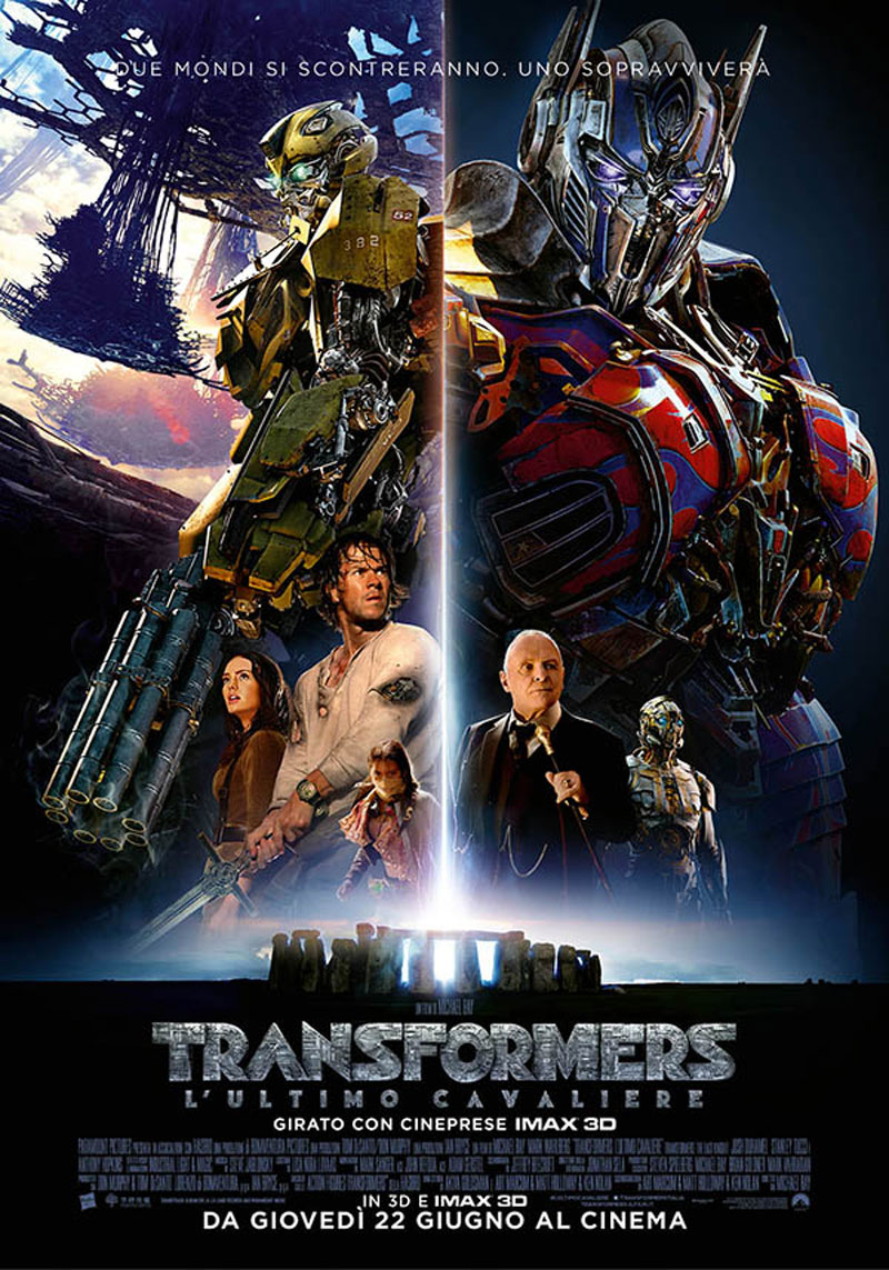 Transformers – L'ultimo cavaliere di Michael Bay