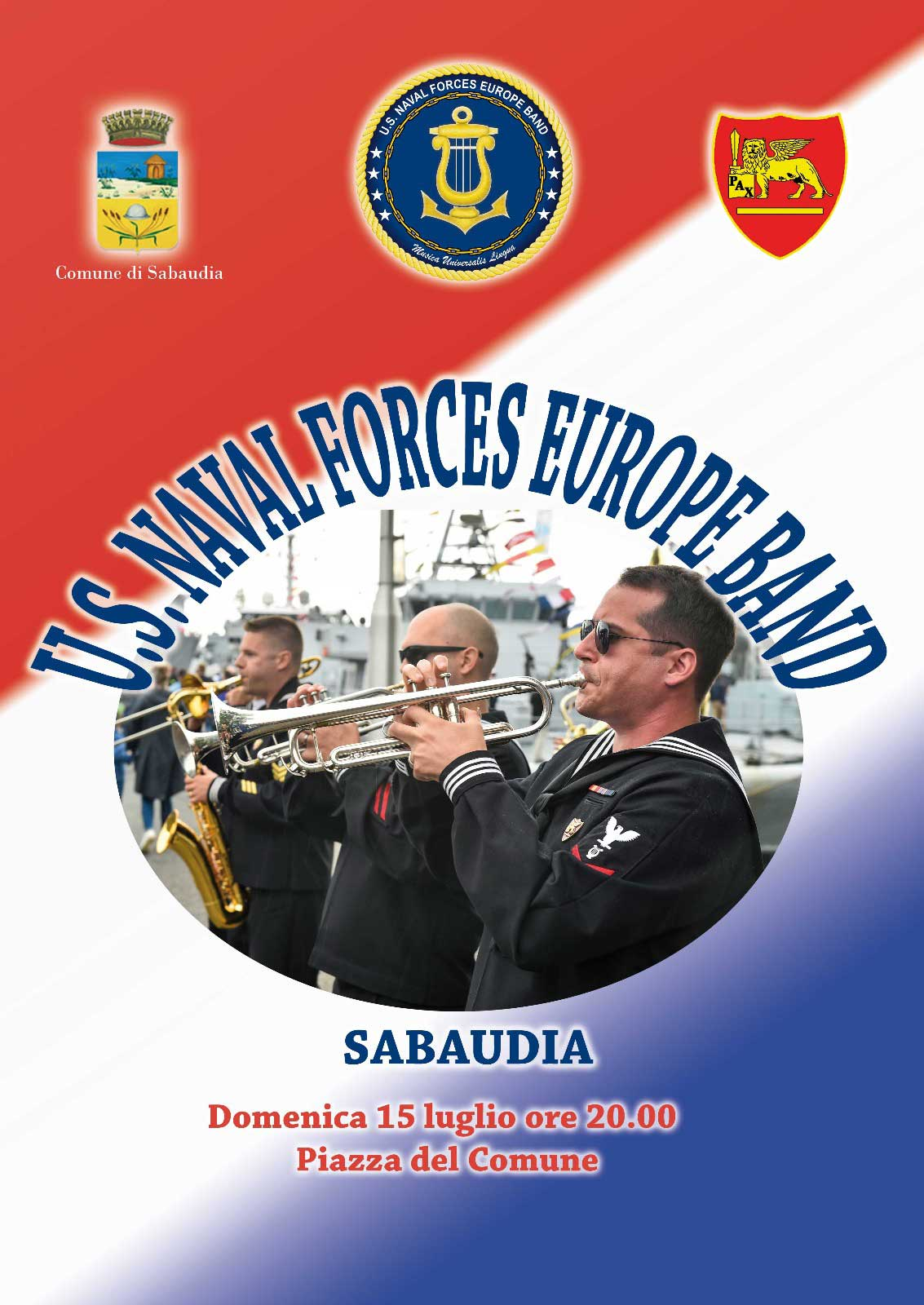U.S. Naval Forces Europe Band - Top Side
