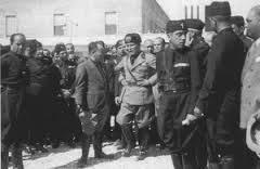 Mussolini inaugurazione Sabaudia