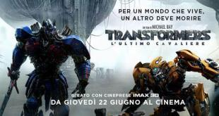 Transformers – L'ultimo cavaliere di Michael Bay, dal 22 giugno al cinema