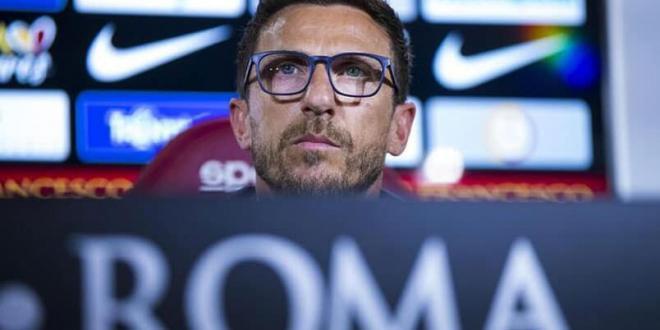 """Eusebio Di Francesco: """"L'obiettivo è partire forte, cercando di fare un'ottima prestazione a Bergamo"""""""