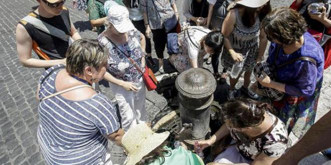 Verso razionamento acqua a Roma