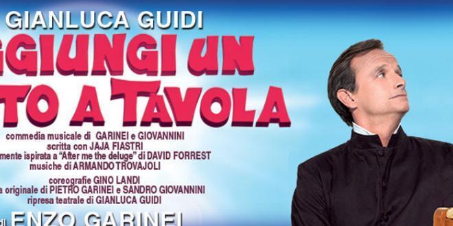 Aggiungi un posto a tavola al teatro brancaccio di roma - Aggiungi un posto a tavola 2017 ...