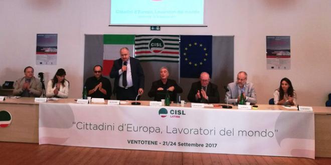 La Cisl di Latina a Ventotene per parlare di Stati Uniti di Europa