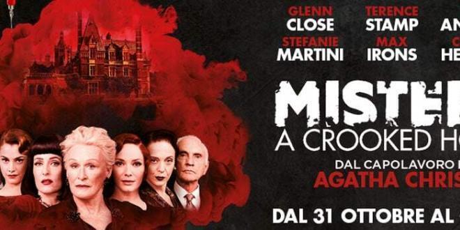 """""""Mistero a Crooked House"""" tratto dal capolavoro di Agatha Christie, dal 31 ottobre al cinema"""