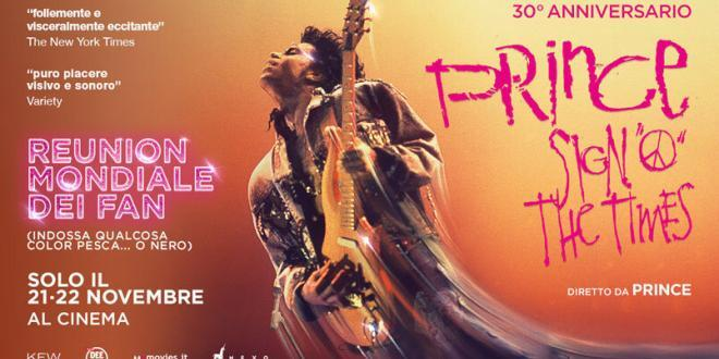 Prince. Sign O' The Times torna al cinema