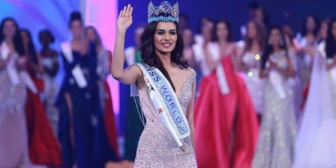 Miss Mondo 2017 è l'indiana Manushi Chhillar