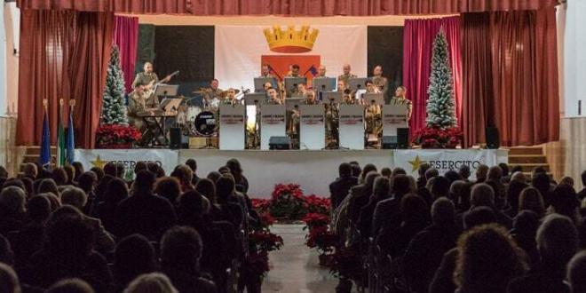 Grande partecipazione al concerto della Army Jazz Band