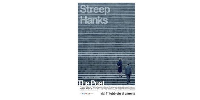 """The Post"" di Steven Spielberg con Meryl Streep e Tom Hanks candidato a 6 Golden Globes"