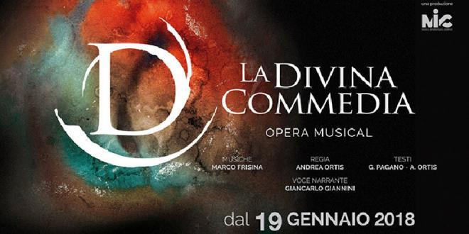 """""""La Divina Commedia"""" con le musiche di Marco Frisina al Teatro Brancaccio di Roma"""