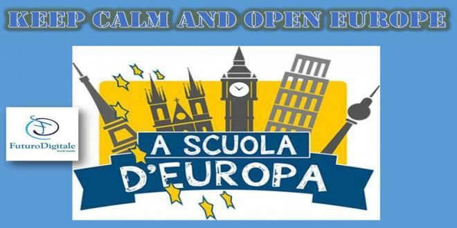 Cori, Keep Calm and Open Europe. A scuola di Europa con Futuro Digitale