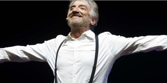 """Gigi Proietti in """"Cavalli di Battaglia"""" il 20 e 23 giugno Auditorium Parco della Musica"""