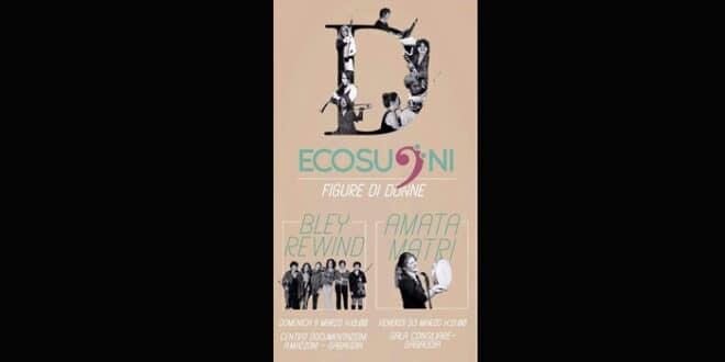 """Ecosuoni – Figure di donne: due concerti gratuiti per la rassegna """"La città in rosa"""""""