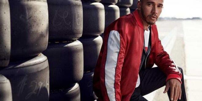 Lewis Hamilton testimonial Tommy Hilfiger