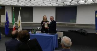 Nella foto il Presidente del Rotary Club Latina Circeo Lorella Dapit e Marcello Trabucco