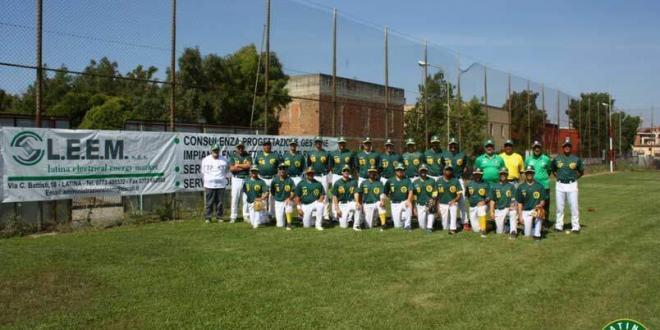 A's Latina Baseball: domenica in casa doppia vittoria che vale il terzo posto in classifica