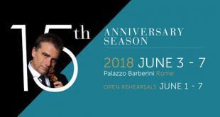 Rome Chamber Music Festival 2018