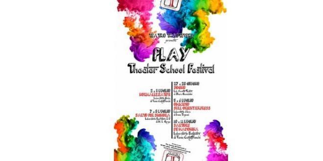 Teatro Trastevere presenta PLAY Theater School Festival, dal 27 giugno al 11 luglio