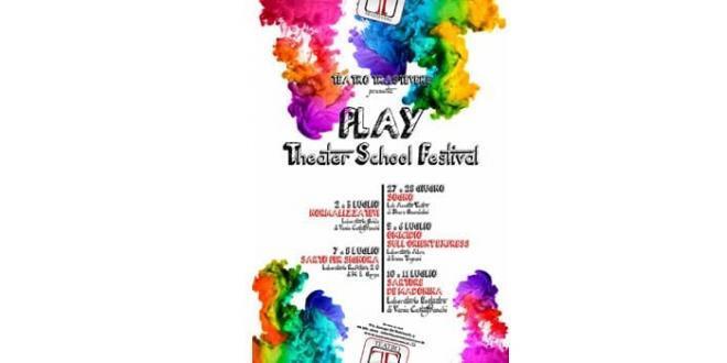 Teatro Trastevere: 11 luglio serata premiazione del PLAY Theater School Festival