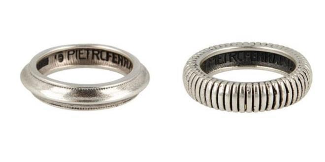Pietro Ferrante dedica una capsule di anelli ai Grandi della Musica