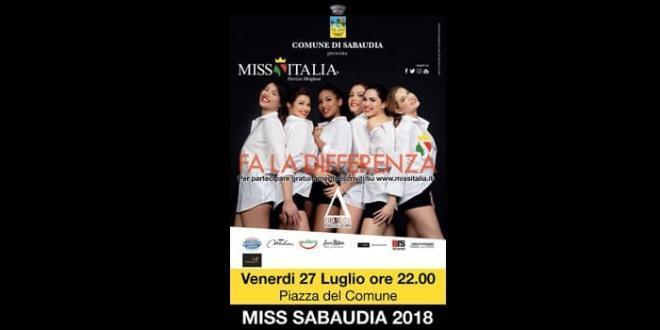 Selezione Miss Sabaudia