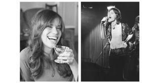 Mick Jagger e Carly Simon